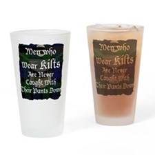 Kilts_1 Drinking Glass