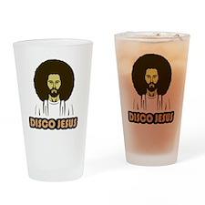 DiscoJesus Drinking Glass