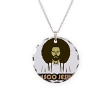 DiscoJesus Necklace Circle Charm