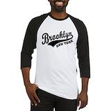 Brooklyn old school Long Sleeve T Shirts