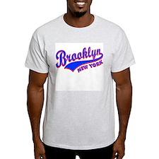Classic Brooklyn  Ash Grey T-Shirt
