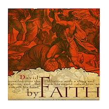 Bag_ByFaith_David Tile Coaster