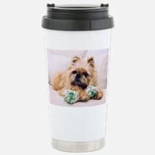 Brussels Griffon Stainless Steel Travel Mug