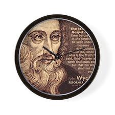 Bag_HeadQuote_Wycliffe Wall Clock