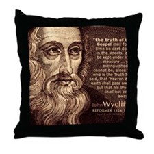 Bag_HeadQuote_Wycliffe Throw Pillow