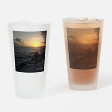 square_template_puerto_rico Drinking Glass