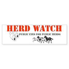 HerdWatchWrap Bumper Sticker
