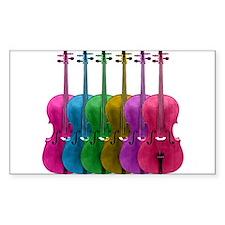 Colorful Cello Decal