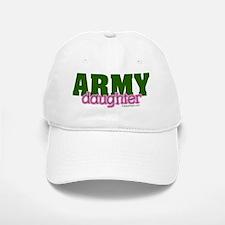 Army daughter pink and green copy Baseball Baseball Cap