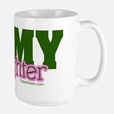Army daughter pink and green copy Mug