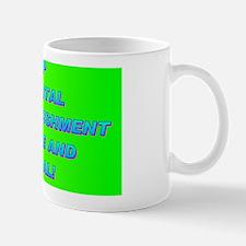 KEEP CAPITAL PUNISHMENT(oval landscape) Mug