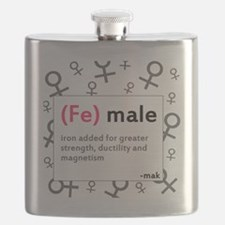 ladiesfront Flask