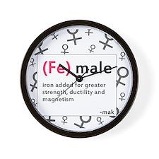 ladiesfront Wall Clock
