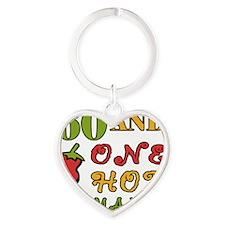 HotMama60 Heart Keychain