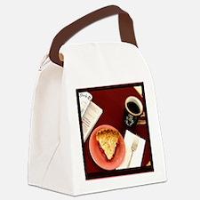 cherry pie Canvas Lunch Bag