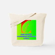KEEP CAPITAL PUNISHMENT(square) Tote Bag