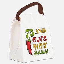 HotMama75 Canvas Lunch Bag
