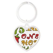 HotMama75 Heart Keychain