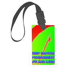 KEEP CAPITAL PUNISHMENT(small po Luggage Tag