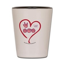 LoveMomBbt Shot Glass
