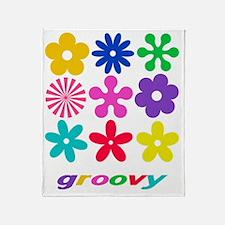 groovy01 Throw Blanket