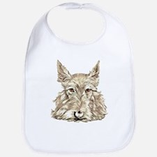 Wheaten Scottish Terrier Bib