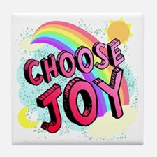 Choose Joy Large Tile Coaster