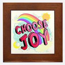 Choose Joy Large Framed Tile