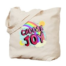 Choose Joy Large Tote Bag