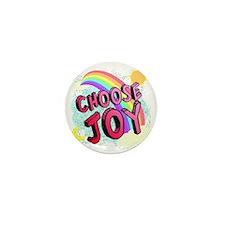 Choose Joy Large Mini Button