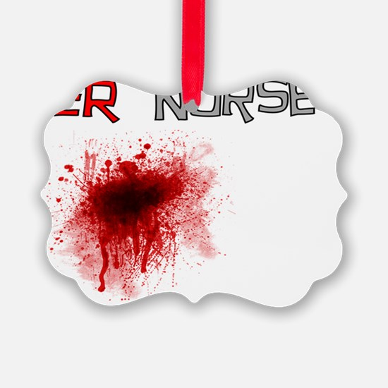 ER  Nurse Blood Gails Ornament