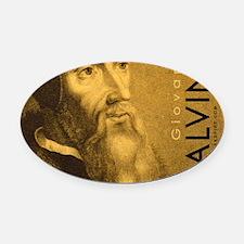 Bag_Head_Calvino Oval Car Magnet