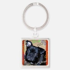Buggs2 Square Keychain