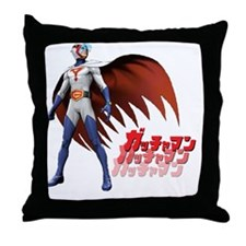 Mark/Ken Washio Throw Pillow