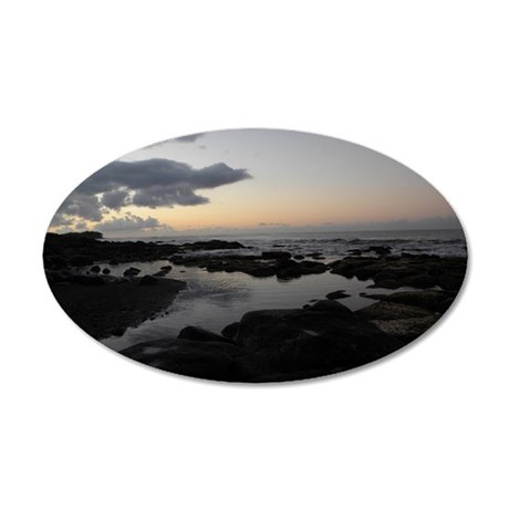 A bit of Peace 35x21 Oval Wall Decal