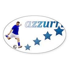 azzurri kick Decal