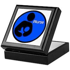 i_Nurse_Blue Keepsake Box