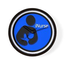 i_Nurse_Blue Wall Clock