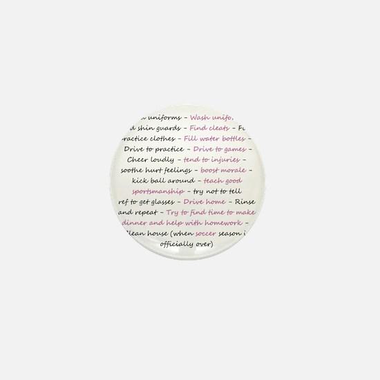 asoccermomsday-back Mini Button