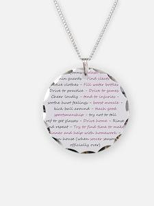 asoccermomsday-back Necklace