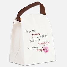 volvovampire-black Canvas Lunch Bag
