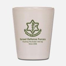idf.blackl Shot Glass