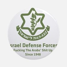 idf.blackl Round Ornament