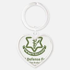 idf.blackl Heart Keychain