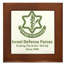 idf.blackl Framed Tile