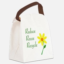 3RsFlower Canvas Lunch Bag