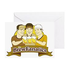 BrewFanatics Greeting Card