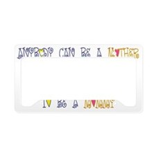 special mommy License Plate Holder