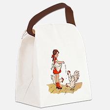 Chicken Canvas Lunch Bag