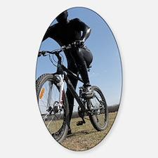 Black Zentai Bike Rider 02 Decal